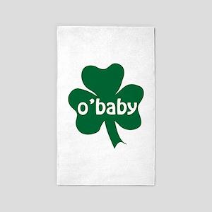 O'Baby Shamrock 3'x5' Area Rug