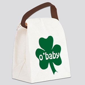 O'Baby Shamrock Canvas Lunch Bag