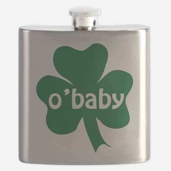 O'Baby Shamrock Flask