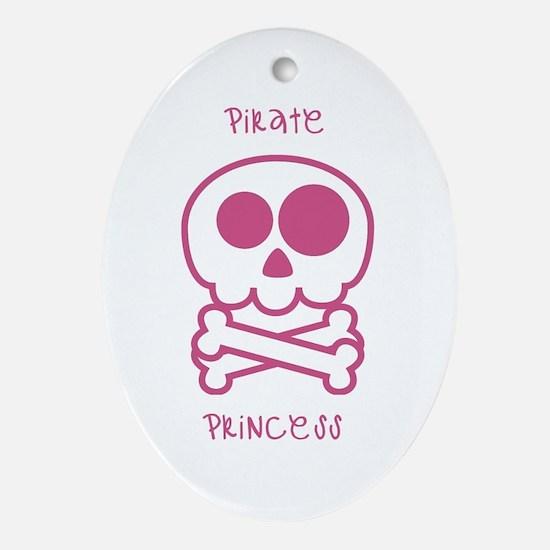 pirate princess Ornament (Oval)