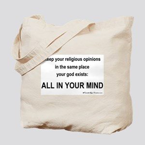 Mindless Mind Tote Bag