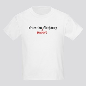 Question Braeden Authority Kids T-Shirt