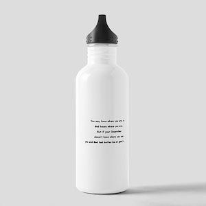 E-911 Water Bottle