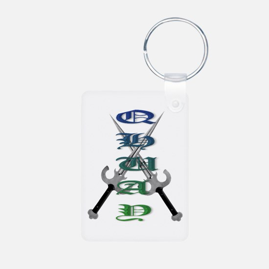 Qhuay Double Dagger Keychains