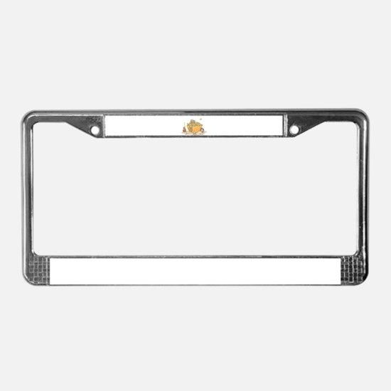 Nutty Friends License Plate Frame