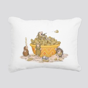 Nutty Friends Rectangular Canvas Pillow