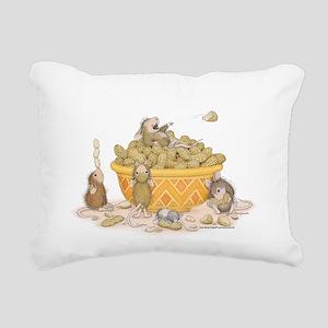 Nutty Friends Rectangular Canvas Pillow