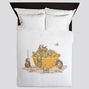 Nutty Friends Queen Duvet