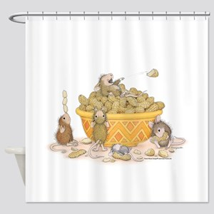Nutty Friends Shower Curtain