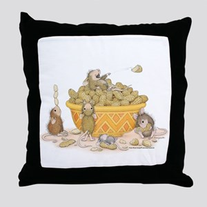 Nutty Friends Throw Pillow