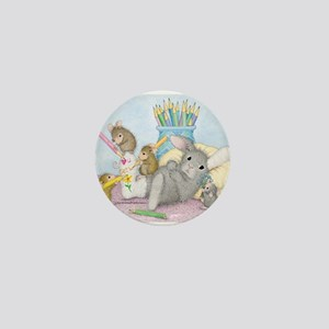 Cast of Characters Mini Button