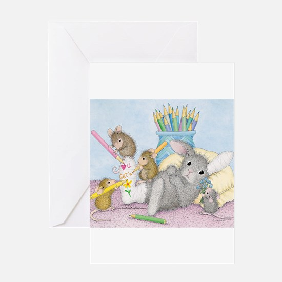 Cast of Characters Greeting Card