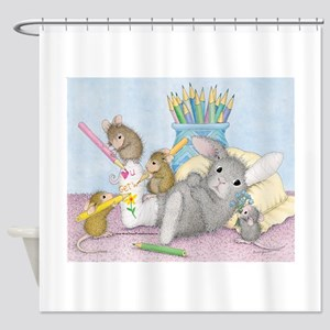 Cast of Characters Shower Curtain