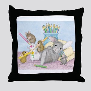 Cast of Characters Throw Pillow
