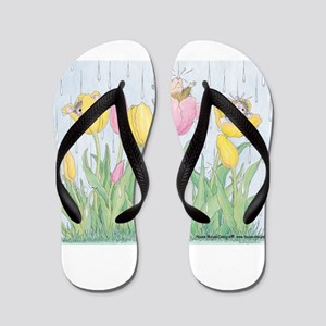 Bring on the Rain Flip Flops