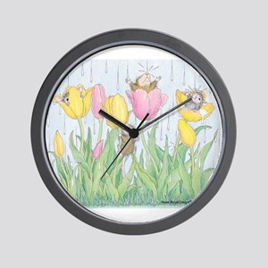 Bring on the Rain Wall Clock