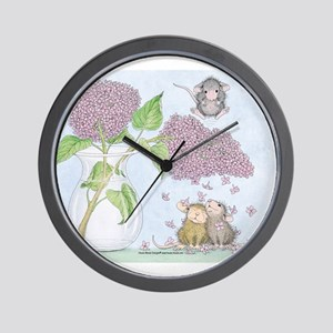 Fragrant Shower Wall Clock