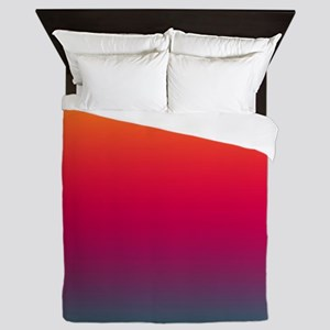Sunset at the Beach Queen Duvet