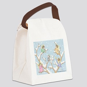Angels Up High Canvas Lunch Bag