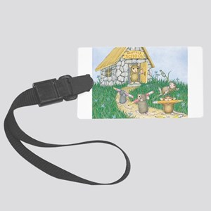Scuttle School Luggage Tag