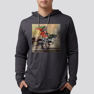 Fear Nothing Mens Hooded Shirt