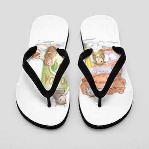 Hot Cocoa Social Flip Flops