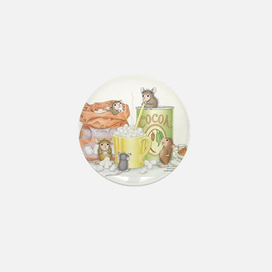 Hot Cocoa Social Mini Button