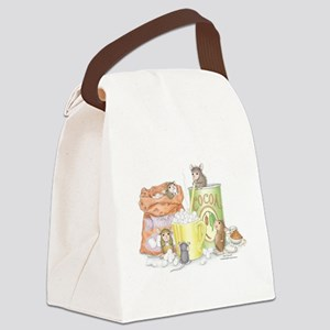 Hot Cocoa Social Canvas Lunch Bag
