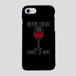 100 Percent Chance of Wine iPhone 7 Tough Case