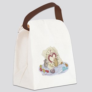 Love you. Canvas Lunch Bag