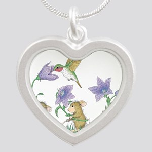 A Spring Tail Silver Heart Necklace