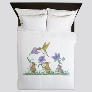A Spring Tail Queen Duvet