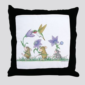 A Spring Tail Throw Pillow