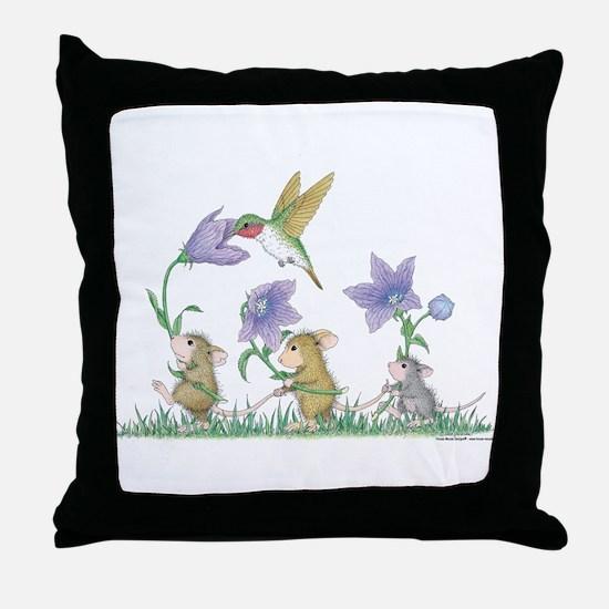 A Spring Tail Throw Pillow