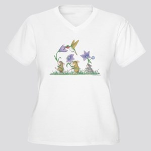 A Spring Tail Plus Size T-Shirt