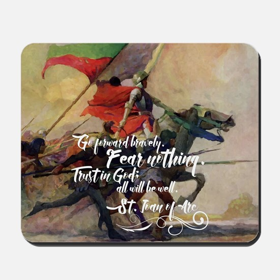 Fear Nothing Mousepad