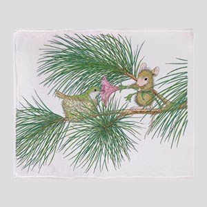 Out on a Limb Throw Blanket