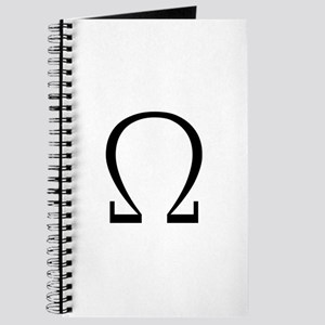 Greek Omega Symbol Journal