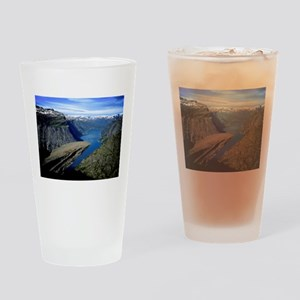 Trolltunga (Troll toungue) Drinking Glass