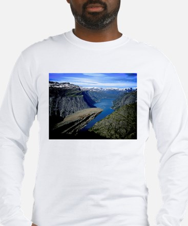Trolltunga (Troll toungue) Long Sleeve T-Shirt