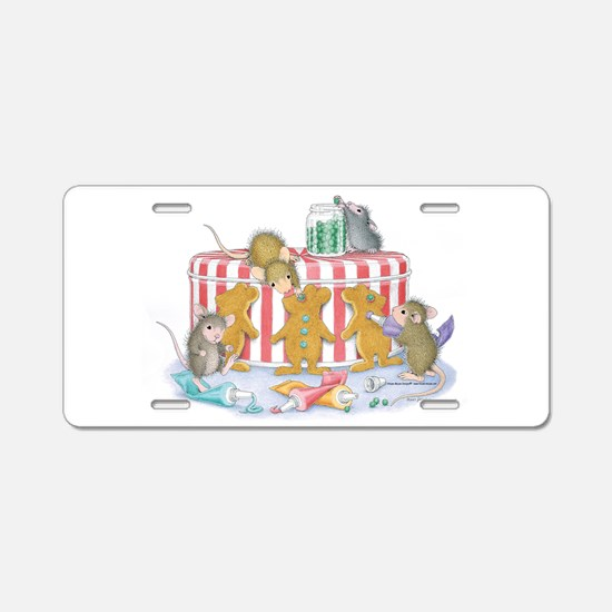 Ginger-Mouse Bakery Aluminum License Plate