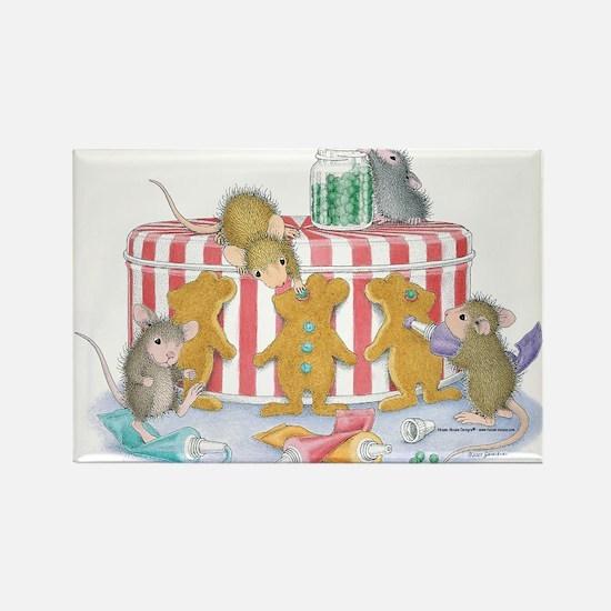 Ginger-Mouse Bakery Rectangle Magnet