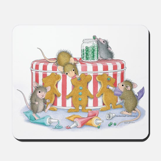 Ginger-Mouse Bakery Mousepad