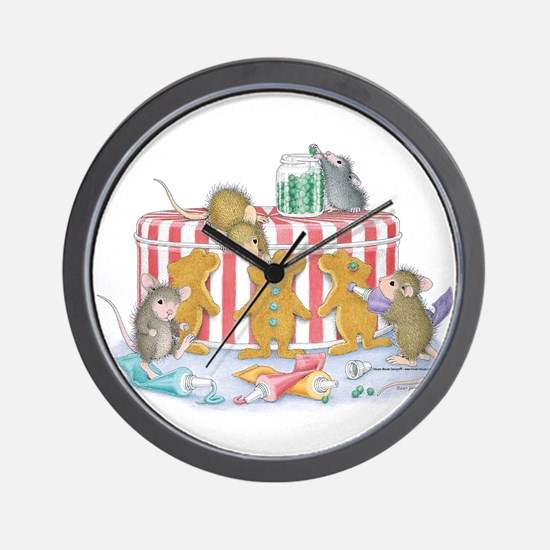 Ginger-Mouse Bakery Wall Clock