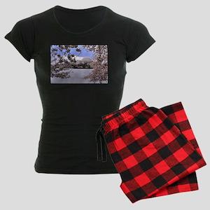 Thomas Jefferson Memorial Women's Dark Pajamas