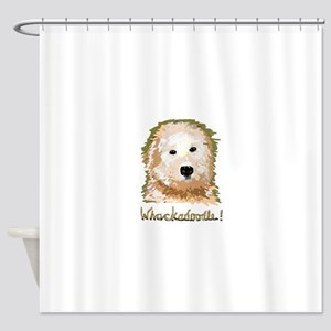 Whackadoodle! - Shower Curtain