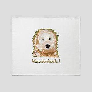Whackadoodle! - Throw Blanket