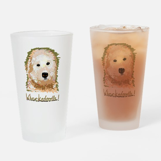 Whackadoodle! - Drinking Glass
