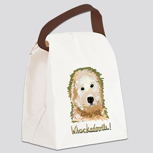 Whackadoodle! - Canvas Lunch Bag