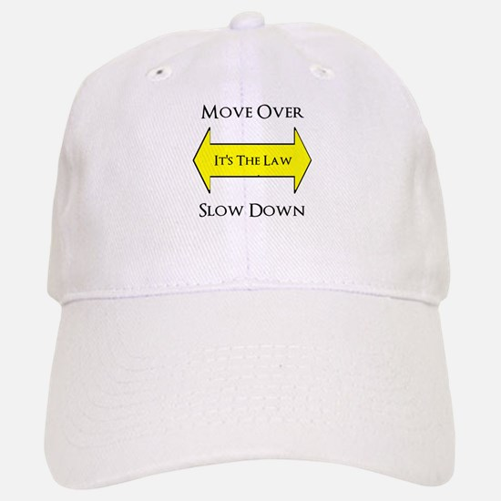 Move Over Saftey Baseball Baseball Cap